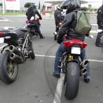 2 Streetfighters 1098 S au départ de la balade moto de Rennes pour Saint-Malo