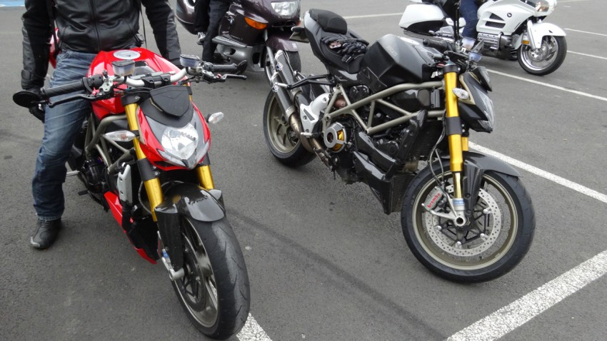 Les deux frangines Ducati Streetfighter 1098 S