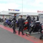 18 motos à Dinan au Mac Donald