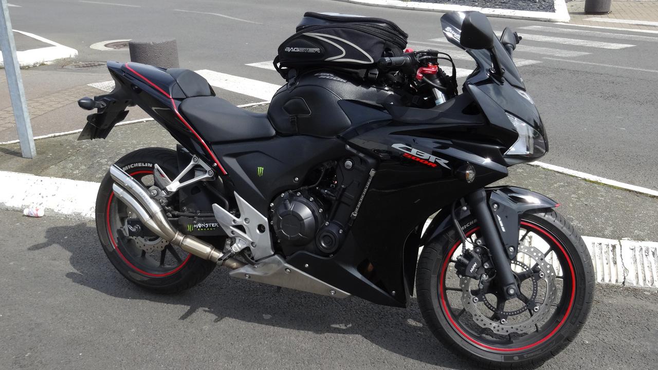 Honda CBR 500 F de Franck