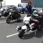 balade moto et rencontre entre motard à Rennes