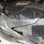 garde boue arrière ducati streetfighter 1098 S carbone