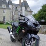 moto ZZR 1400 de David Jazt à Rennes