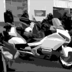 Honda Goldwing de Laurent, moto passion Rennes