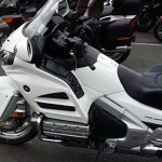 Honda Goldwing Blanche à Rennes