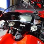 poste de pilotage Ducati Desmo RR
