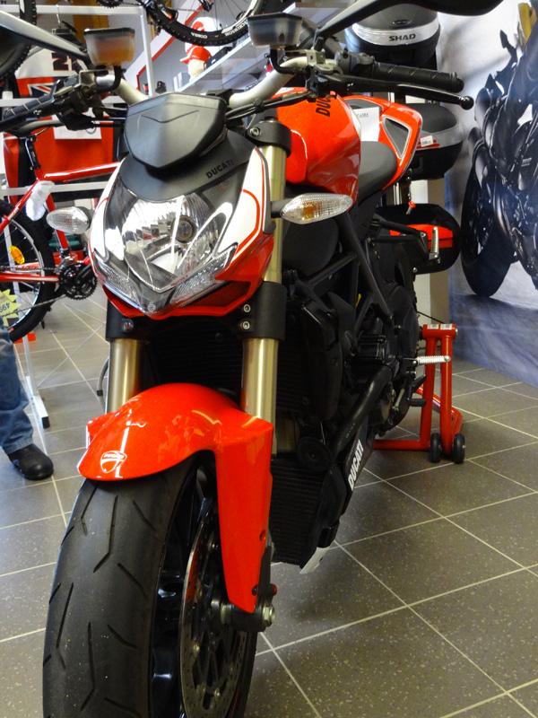 Ducati Streetfighter 848 edition spéciale 2014