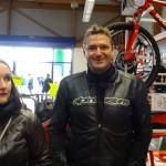 Lucie et Laurent au City Bike de Laval : Concession Ducati