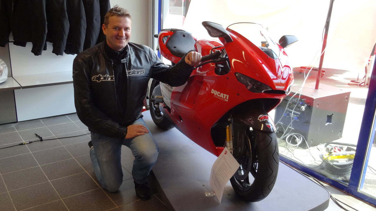 Ducati Desmo RR de Laurent