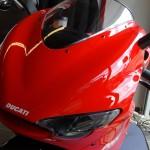 Ducati Desmo vue de face