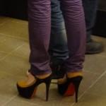 Christophe Lacroutin : chaussure haut talon femme