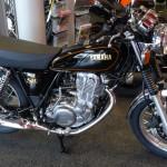 moto Yamaha retro : SR 400