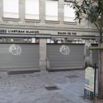 glacier le sanchez de Saint-Malo est fermé