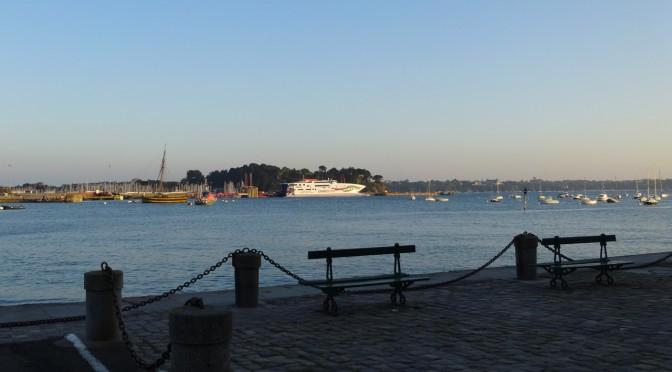 vue mer Saint-Malo depuis les remparts