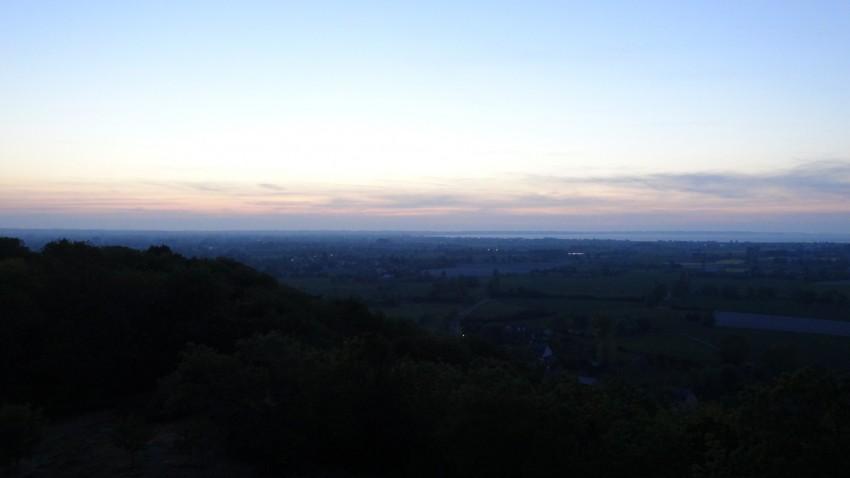 vue depuis le Mont Dol, Pays de Saint-Malo