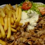 assiette kebab à Dol de Bretagne