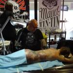 Tatoueur TINTIN à la convention de Rennes