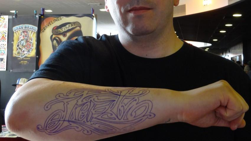 Jazt à Rennes convention Tattoo