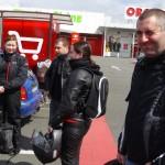 motard rennais à Dinan