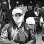 Lucie, motarde de Laval