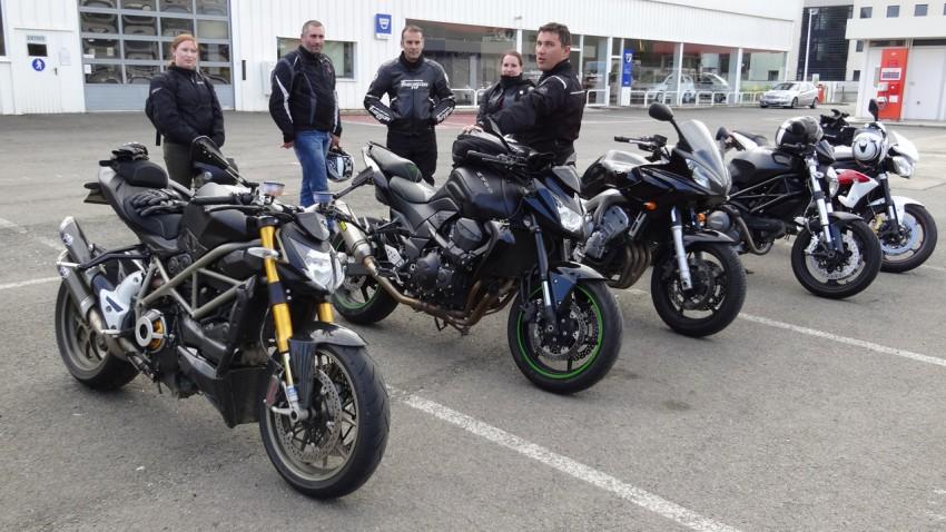 sortie moto à la journée au départ de Rennes