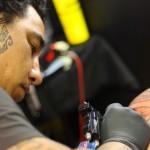 tatoueur Rennais à la convention de Rennes