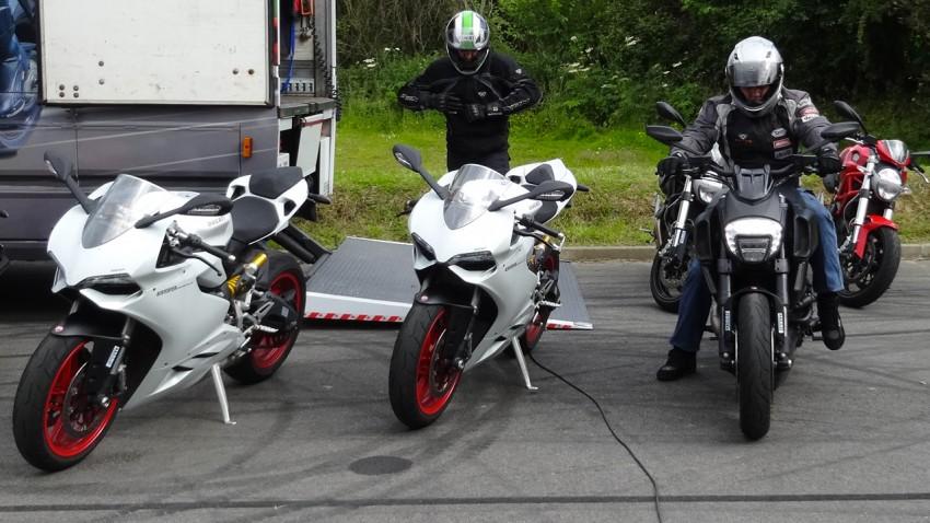 ducati moto essai à Laval