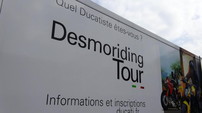 Desmoriding tour à Laval : Ducati moto