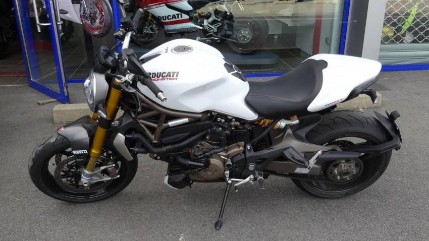 monster 1200 S blanc 2014