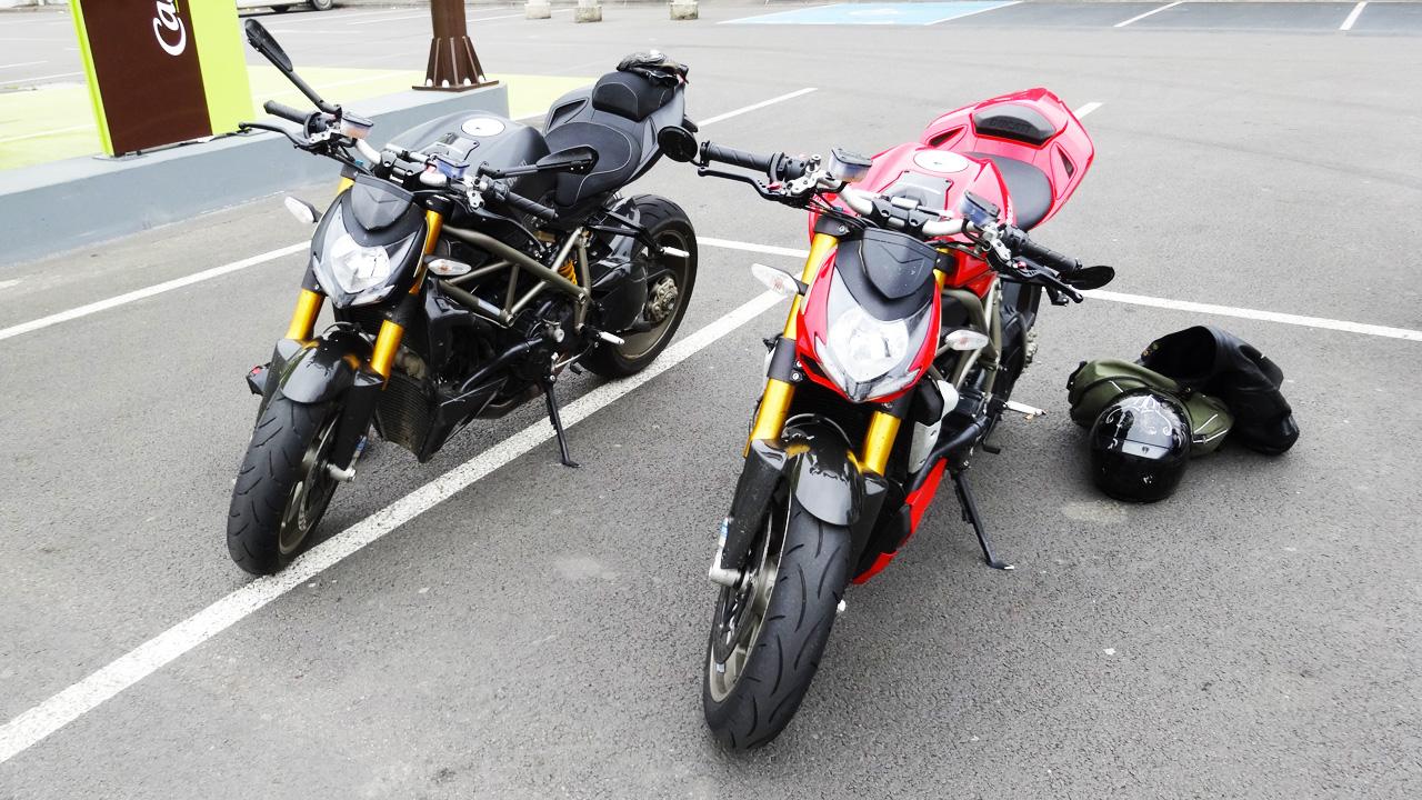 ducati Streetfighter 1098 S noire et rouge