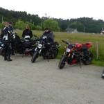 parking moto au port de Foleux