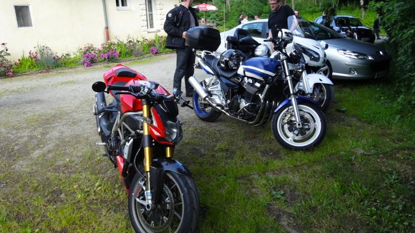 Ducati moto au moulin du Boël