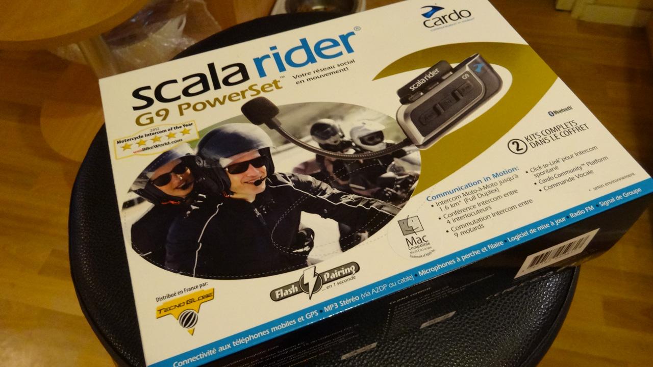 pack powersert G9 Scala Rider