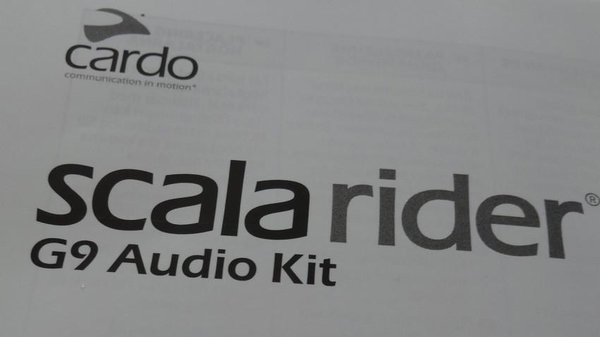 Scala Rider G9 Audio Kit