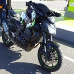 Kawasaki Z750 2012 noire Monster à vendre