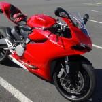 Ducati 899 rouge jante noire