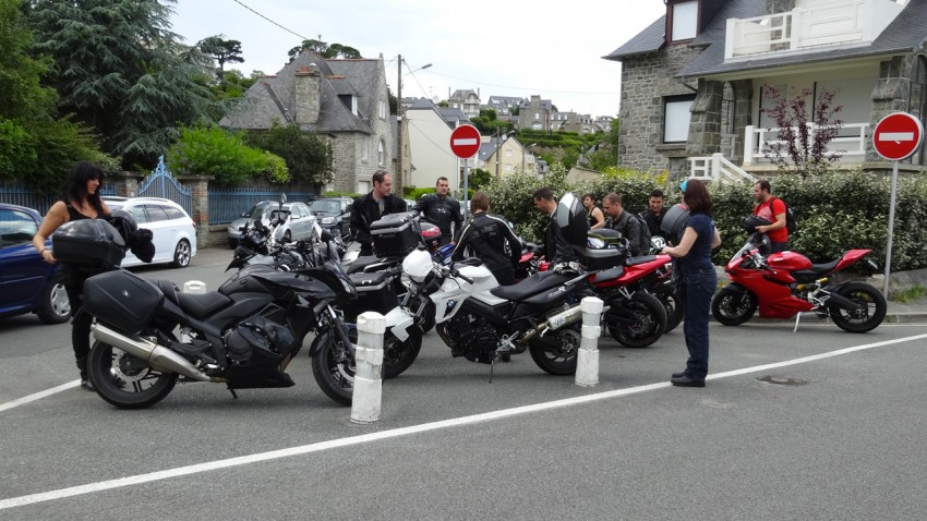 Motards Rennais à Saint Cast le Guildo