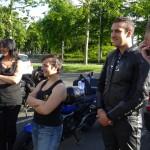 balade moto à Saint-Grégoire