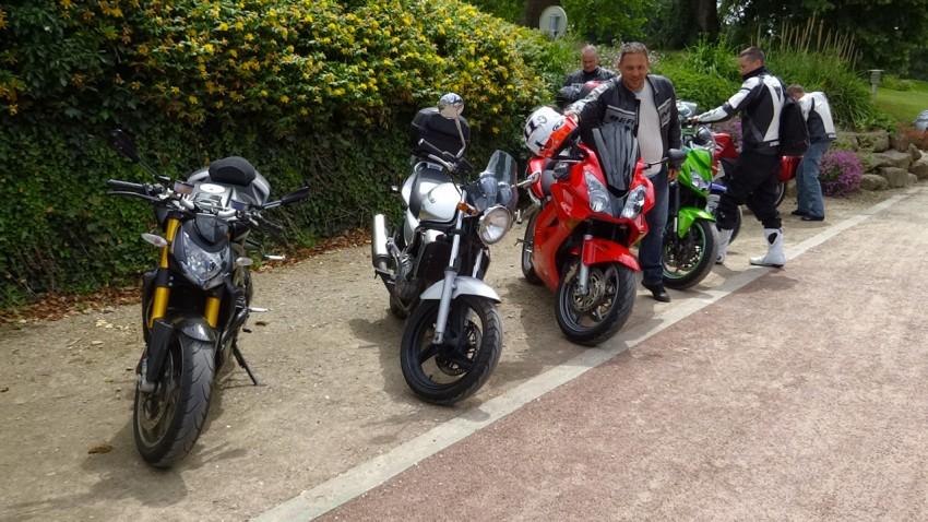 motards Rennais au Domaine des Ormes