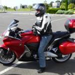 Ludovic sur son VFR 1200 Honda