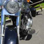 Pare-brise amovible sur le Switchback Harley Davidson