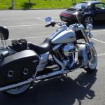 Harley Davidson aux portes de Bretagne