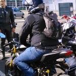 David Jazt sur sa Ducati Streetfighter 1098 S