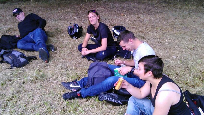 David, Cécile, David et Sybille