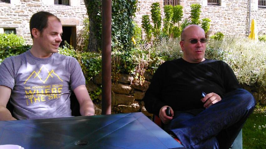 Guillaume et moi même, David Jazt