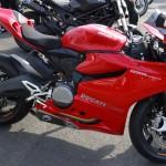 Ducati 899 de piste à Rennes