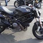 Ducati 696 à Rennes