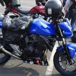 Kawasaki Z 750 bleue de Rennes