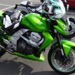 Kawasaki Z 750 Verte à Rennes
