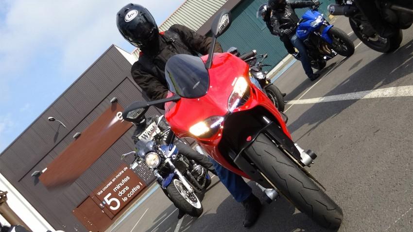 motard Rennais en Ducati